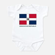 The Dominican Republic Flag Stuff Infant Bodysuit