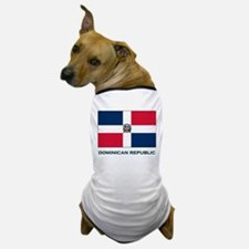 The Dominican Republic Flag Stuff Dog T-Shirt