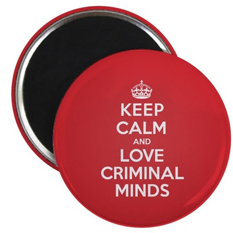 K C Love Criminal Minds Magnet