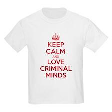 K C Love Criminal Minds T-Shirt