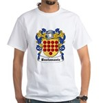 Bustamante Coat of Arms White T-Shirt