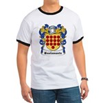 Bustamante Coat of Arms Ringer T