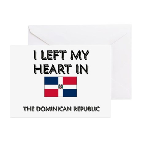 I Left My Heart In The Dominican Republic Greeting