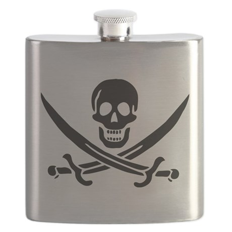 Pirate logo Flask