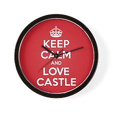 K C Love Castle Wall Clock