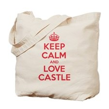 K C Love Castle Tote Bag
