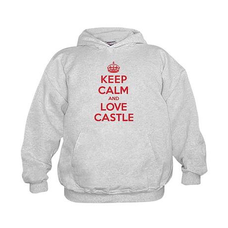 K C Love Castle Kids Hoodie