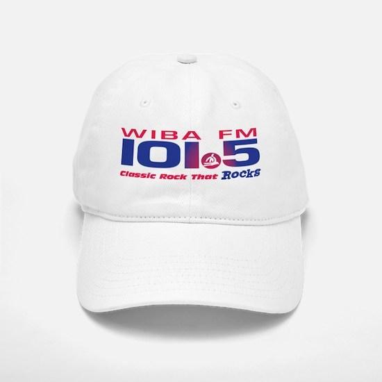 101.5 WIBA-FM (CLASSIC ROCK) Baseball Baseball Cap