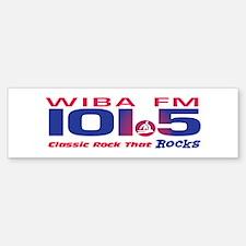 101.5 WIBA-FM (CLASSIC ROCK) Bumper Bumper Bumper Sticker