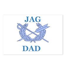 JAG DAD Postcards (Package of 8)