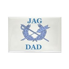 JAG DAD Rectangle Magnet