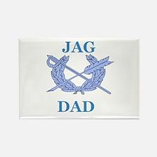 JAG DAD Rectangle Magnet