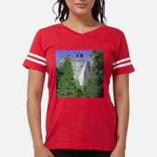 1010 70 8027 bridal veil fal Womens Football Shirt