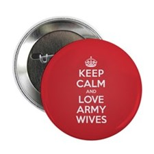 """K C Love Army Wives 2.25"""" Button (10 pack)"""