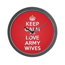 K C Love Army Wives Wall Clock