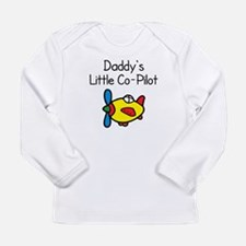 daddys co pilot Long Sleeve T-Shirt