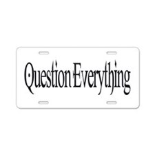 Cute Intelligent design Aluminum License Plate