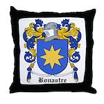 Bonastre Coat of Arms Throw Pillow