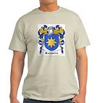 Bonastre Coat of Arms Ash Grey T-Shirt