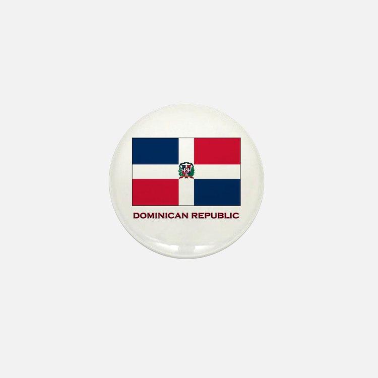 Viva The Dominican Republic Mini Button