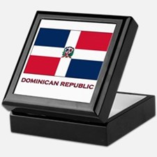 Viva The Dominican Republic Keepsake Box