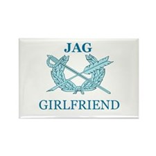 JAG GIRLFRIEND Rectangle Magnet