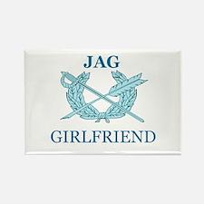 JAG GIRLFRIEND Rectangle Magnet