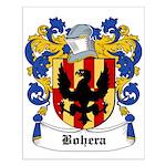 Bohera Coat of Arms Small Poster