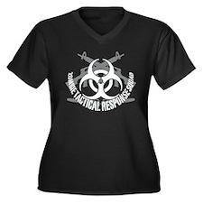 Zombie tactical response squad Women's Plus Size V