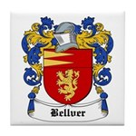 Bellver Coat of Arms Tile Coaster