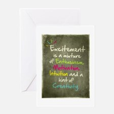Excitement Greeting Card