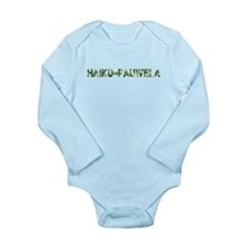 Haiku-Pauwela, Vintage Camo, Long Sleeve Infant Bo