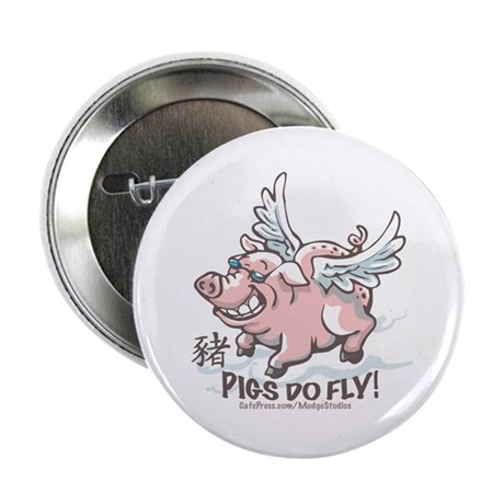 Flying Pig 2007 Button
