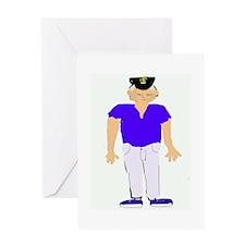 Skipper Greeting Card