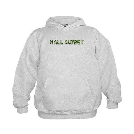 Hall Summit, Vintage Camo, Kids Hoodie