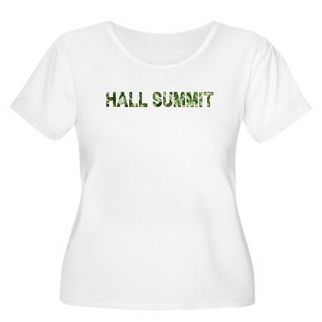 Hall Summit, Vintage Camo, Women's Plus Size Scoop