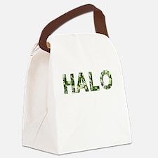 Halo, Vintage Camo, Canvas Lunch Bag