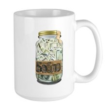 Cash Stash Jar Mug