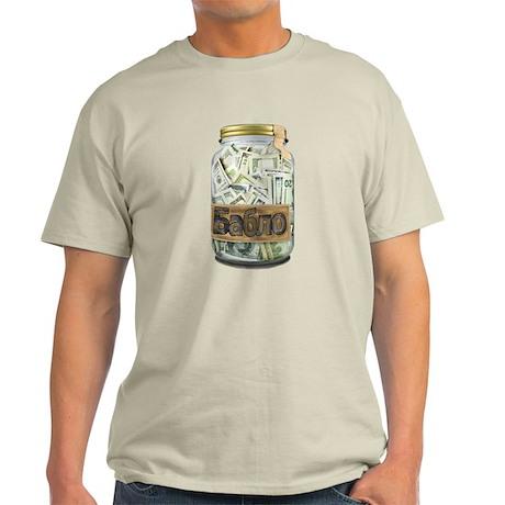 Cash Stash Jar Light T-Shirt