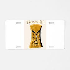 Kona Kai Aluminum License Plate
