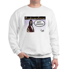 Putting Jesus back in Christmas Sweatshirt