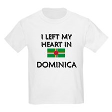Flag of Dominica Kids T-Shirt