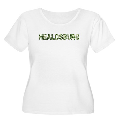 Healdsburg, Vintage Camo, Women's Plus Size Scoop