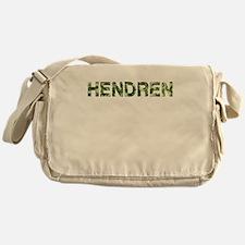 Hendren, Vintage Camo, Messenger Bag