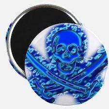 Pirate logo e9 Magnet