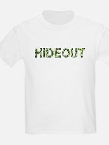 Hideout, Vintage Camo, T-Shirt