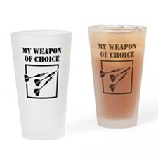 Unique My body my choice Drinking Glass