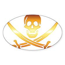Pirate logo e8 Decal