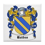 Baides Coat of Arms Tile Coaster