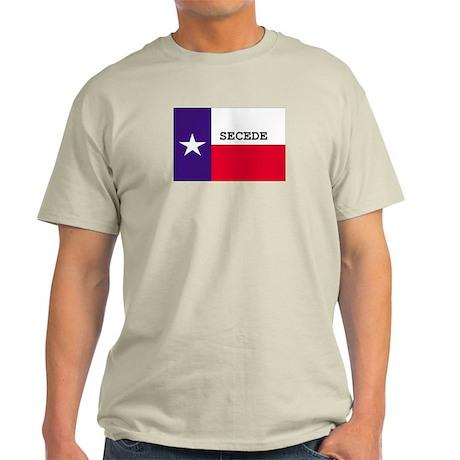 Texas Secede! Ash Grey T-Shirt